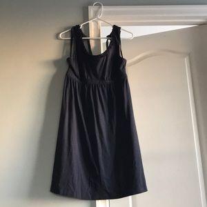 Loft navy summer dress